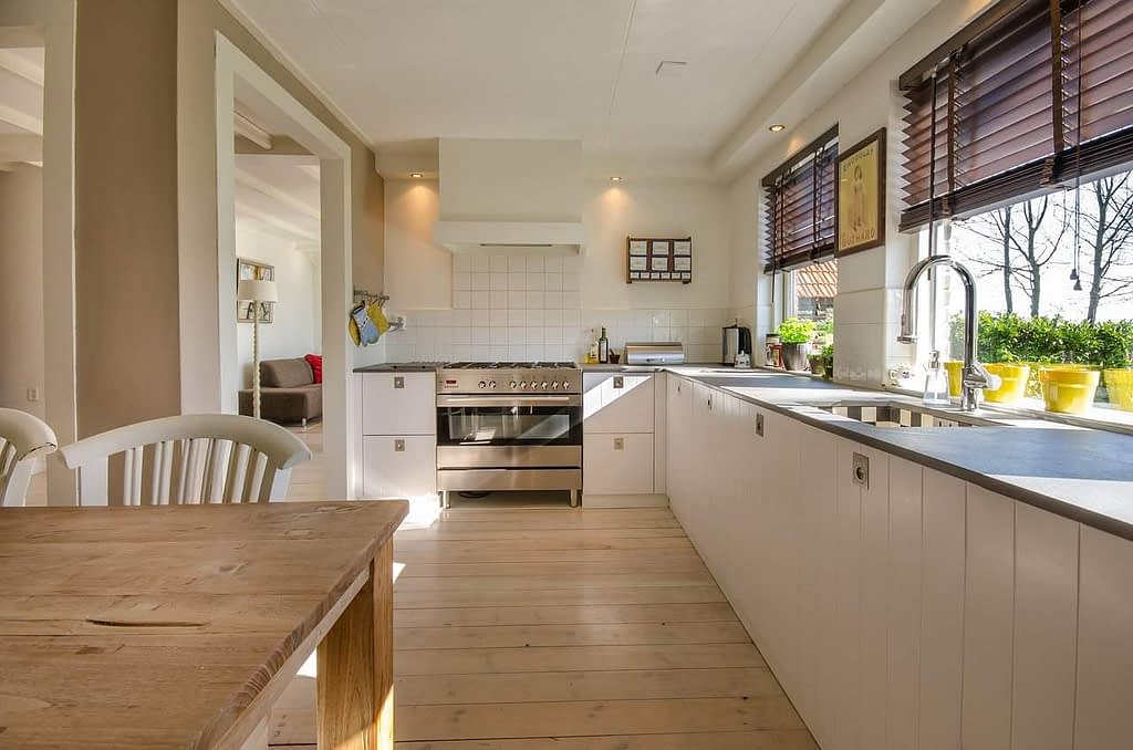 kitchen, home, interior